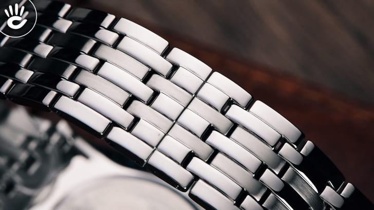 Đồng hồ Doxa D201RSV máy quartz Thuỵ Sỹ, chuẩn Swiss Made - Ảnh 5