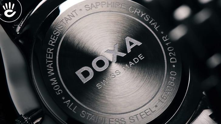 Đồng hồ Doxa D201RSV máy quartz Thuỵ Sỹ, chuẩn Swiss Made - Ảnh 7