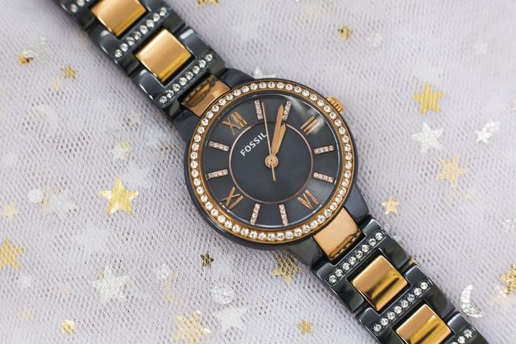 Đồng hồ Fossil ES4298: Vẻ đẹp sang trọng từ viên đá pha lê - Ảnh 3