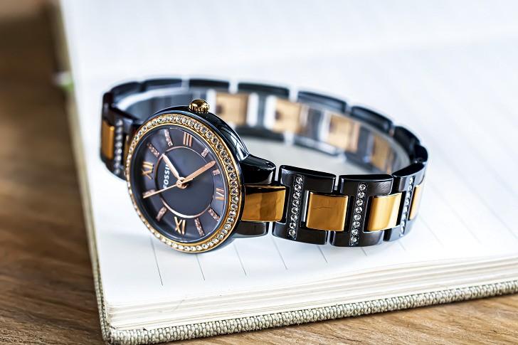 Đồng hồ Fossil ES4298: Vẻ đẹp sang trọng từ viên đá pha lê - Ảnh 5