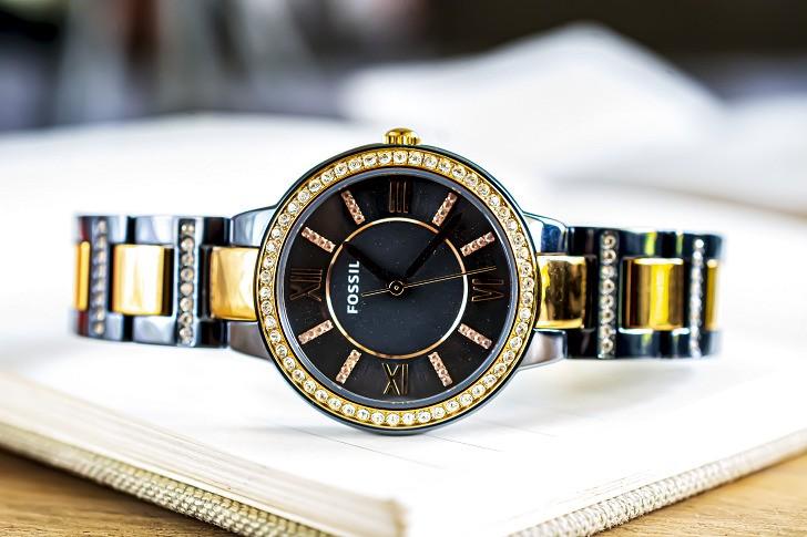 Đồng hồ Fossil ES4298: Vẻ đẹp sang trọng từ viên đá pha lê - Ảnh 6