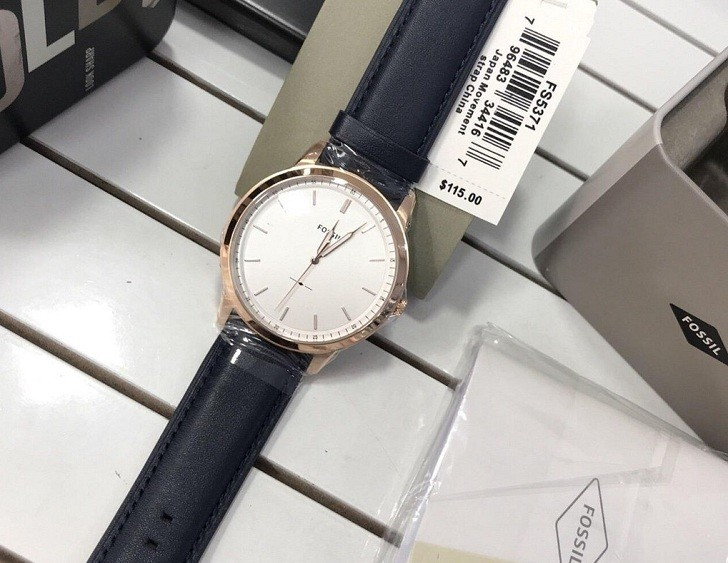 Đồng hồ Fossil FS5371 giá rẻ, thay pin miễn phí trọn đời - Ảnh 3