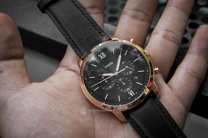 Đồng hồ Fossil FS5381 tích hợp tính năng Chronograph - Ảnh 2