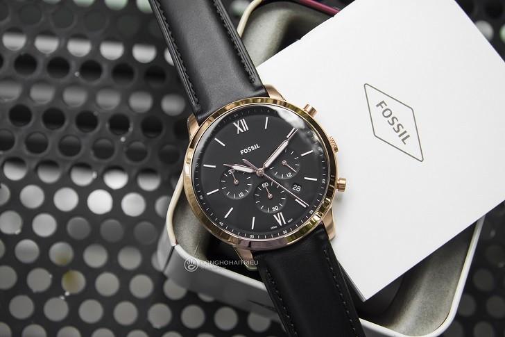 Đồng hồ Fossil FS5381 tích hợp tính năng Chronograph - Ảnh 4