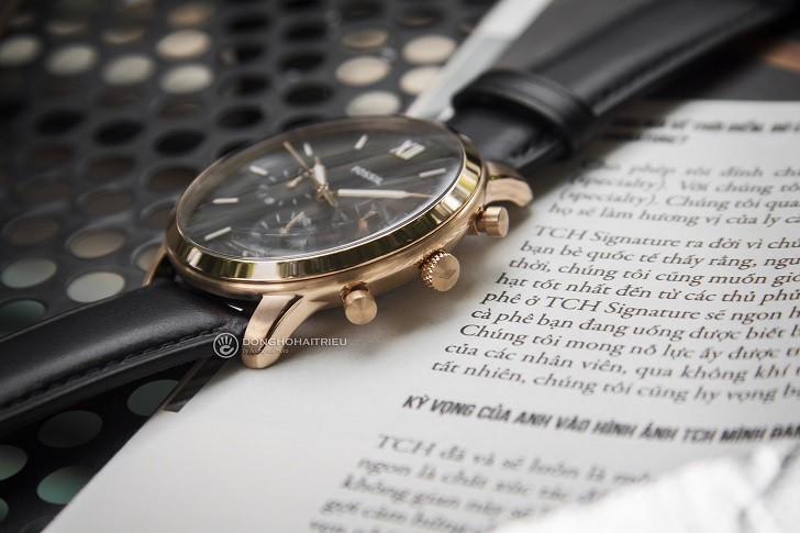 Đồng hồ Fossil FS5381 tích hợp tính năng Chronograph - Ảnh 5