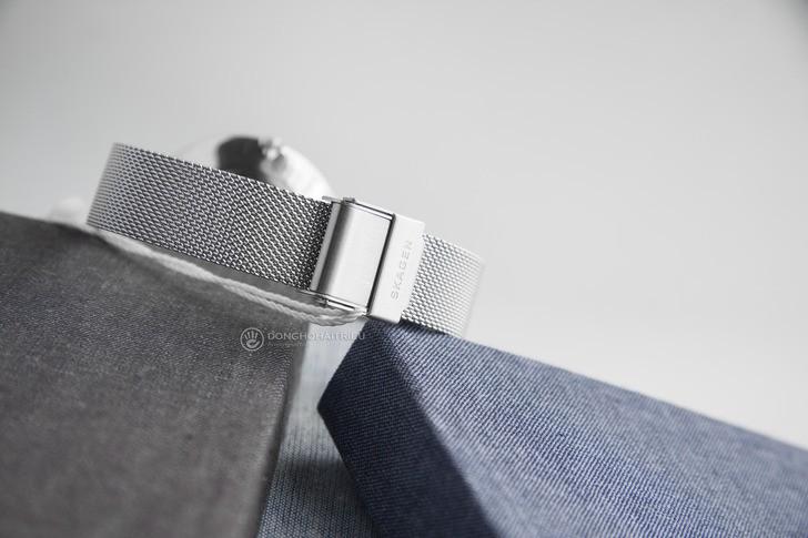 Đồng hồ nữ Skagen SKW2687 siêu mỏng, dây lưới thời trang - Ảnh 5