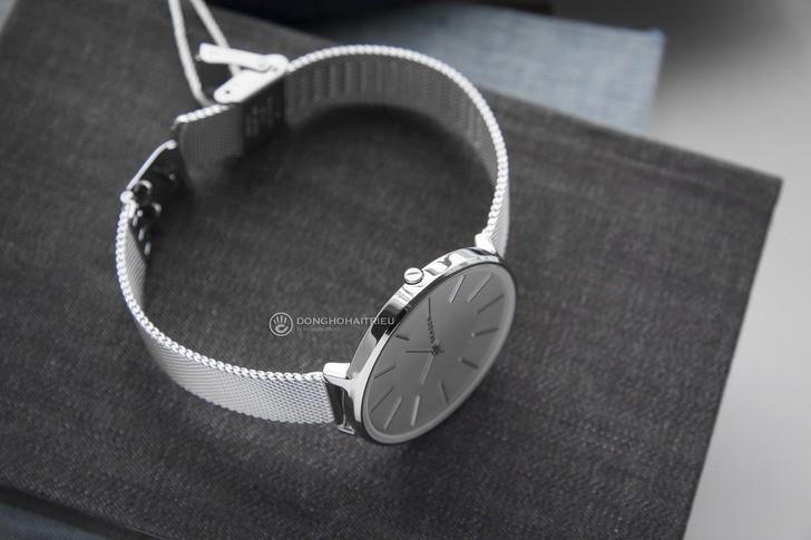 Đồng hồ nữ Skagen SKW2687 siêu mỏng, dây lưới thời trang - Ảnh 7