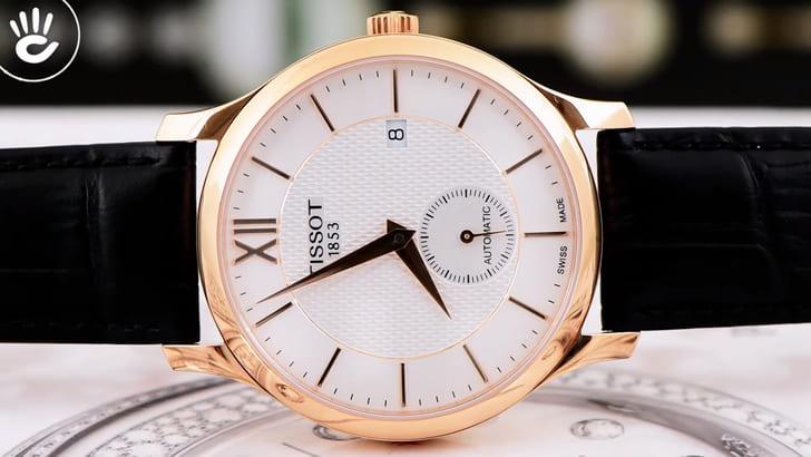 Đồng hồ Tissot T063.428.36.038.00 Thuỵ Sỹ, trữ cót 40 giờ - Ảnh 1