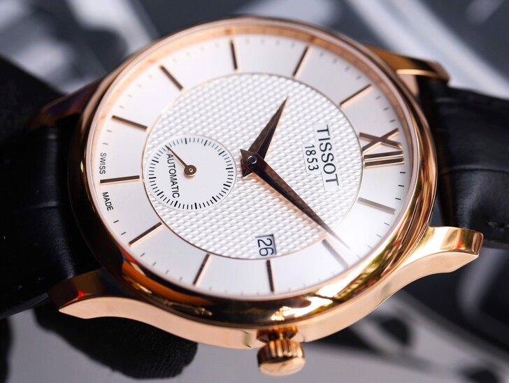 Đồng hồ Tissot T063.428.36.038.00 Thuỵ Sỹ, trữ cót 40 giờ - Ảnh 2