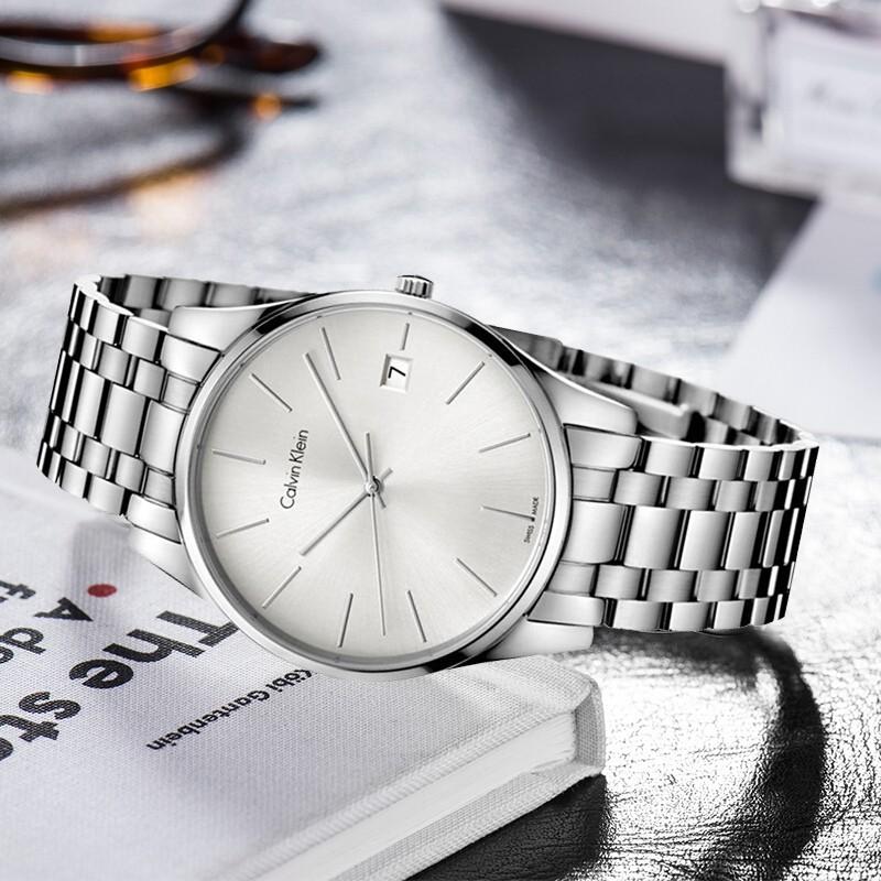 Đồng hồ Calvin Klein K4N21146 thời trang, kính sapphire - Ảnh 4