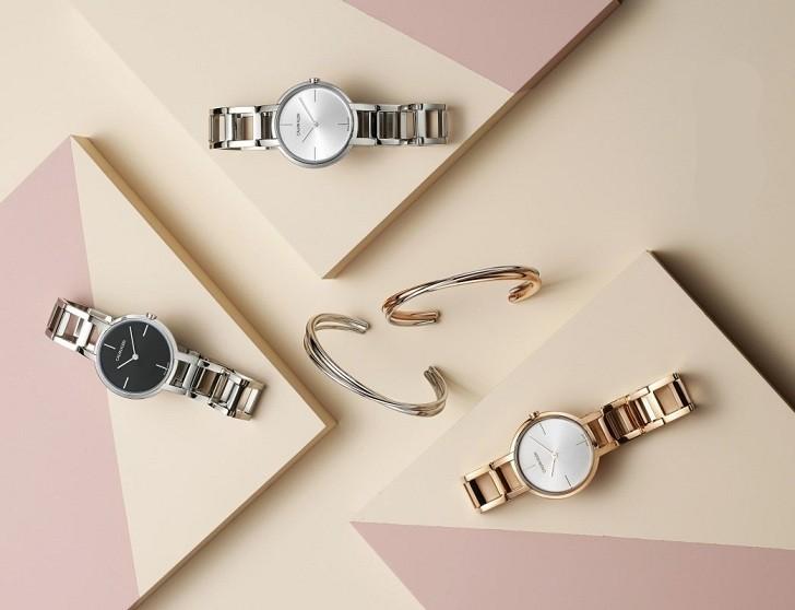 Đồng hồ nữ Calvin Klein K8N23546 đạt chuẩn Swiss Made - Ảnh 6