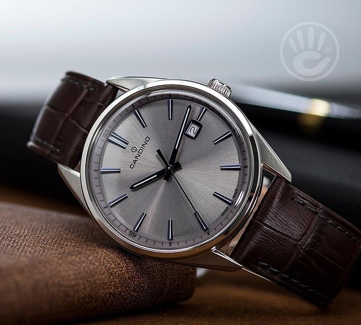 Đồng hồ Candino C4622/2 giá rẻ, thay pin miễn phí trọn đời - Ảnh 6