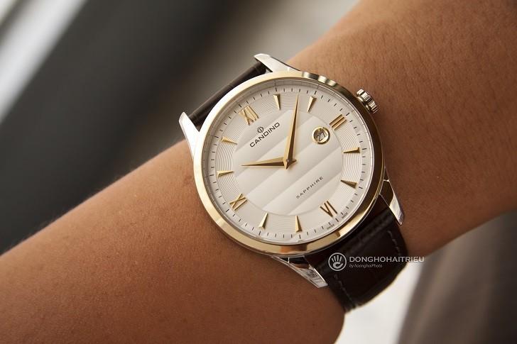 Đồng hồ Candino C4640/1 giá rẻ, thay pin miễn phí trọn đời - Ảnh 4