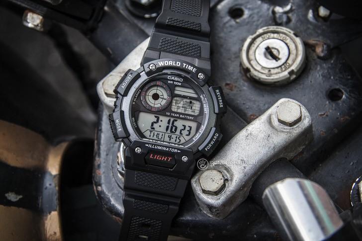 Đồng hồ Casio AE-1400WH-1AVDF giá rẻ, miễn phí thay pin - Ảnh 2