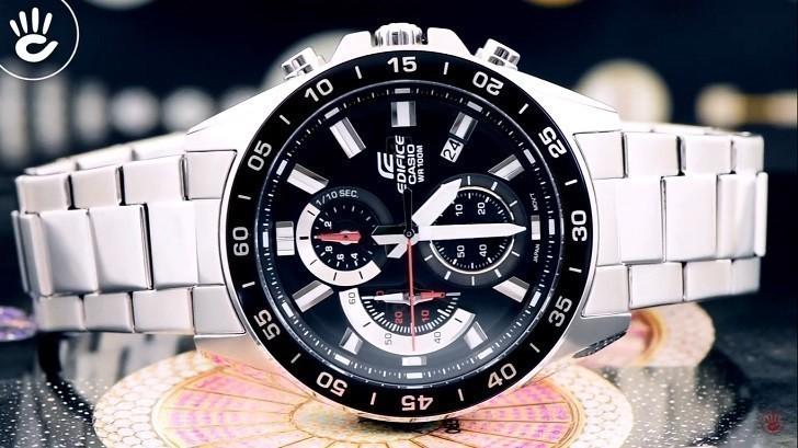 Đồng hồ Casio EFV-550D-1AVUDF giá rẻ, thay pin miễn phí - Ảnh 1