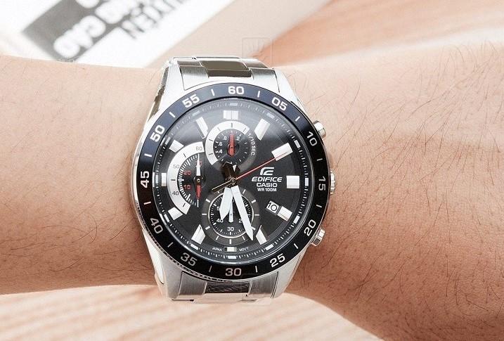Đồng hồ Casio EFV-550D-1AVUDF giá rẻ, thay pin miễn phí - Ảnh 2