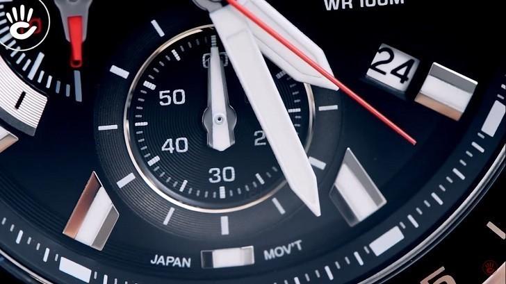 Đồng hồ Casio EFV-550D-1AVUDF giá rẻ, thay pin miễn phí - Ảnh 4
