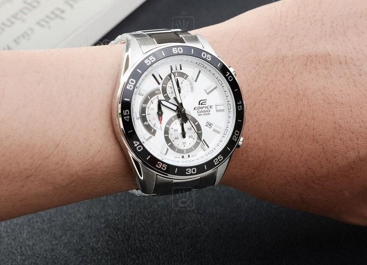 Đồng hồ nam Casio EFV-550D-7AVUDF giá rẻ thay pin miễn phí - Ảnh 1