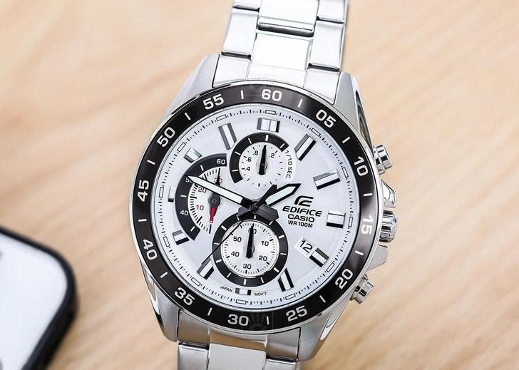 Đồng hồ nam Casio EFV-550D-7AVUDF giá rẻ thay pin miễn phí - Ảnh 5