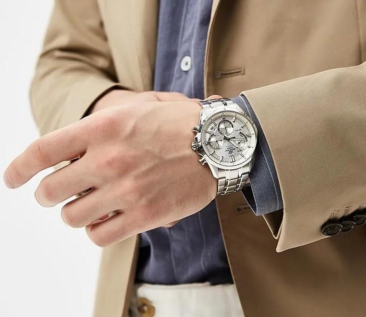 Đồng hồ nam Casio EFV-550D-7AVUDF giá rẻ thay pin miễn phí - Ảnh 3