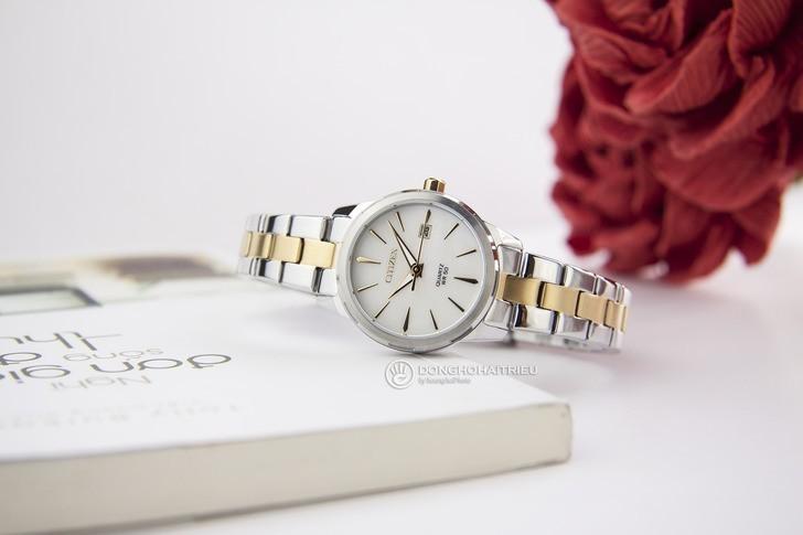 Đồng hồ nữ Citizen EU6074-51D giá tốt thay pin miễn phí - Ảnh 1