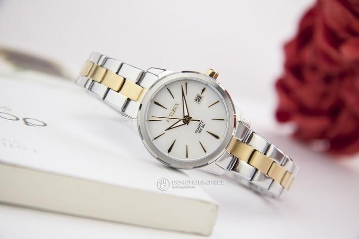 Đồng hồ nữ Citizen EU6074-51D giá tốt thay pin miễn phí - Ảnh 2