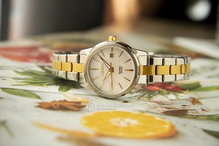 Đồng hồ nữ Citizen EU6074-51D giá tốt thay pin miễn phí - Ảnh 6