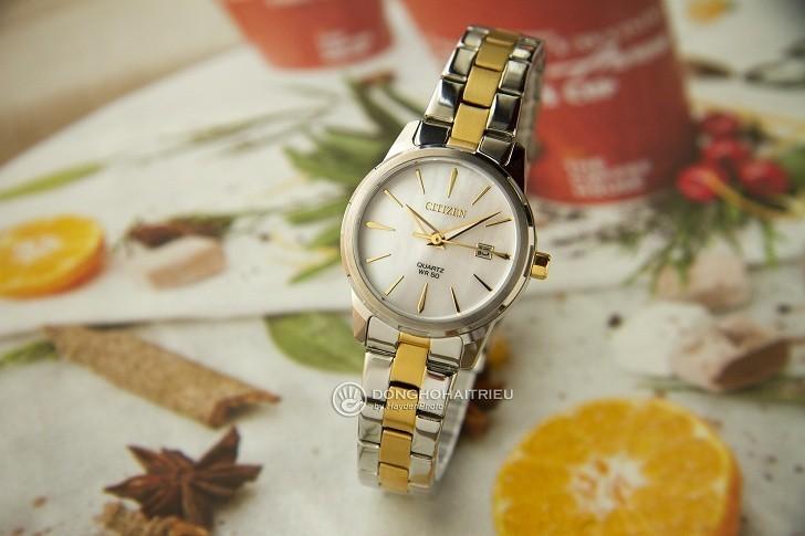 Đồng hồ nữ Citizen EU6074-51D giá tốt thay pin miễn phí - Ảnh 3