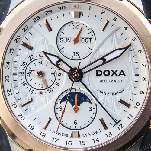 Dòng Doxa Trofeo ChronoMax D128 Limited Edition: Đa Năng Chân Chính Cận Cảnh