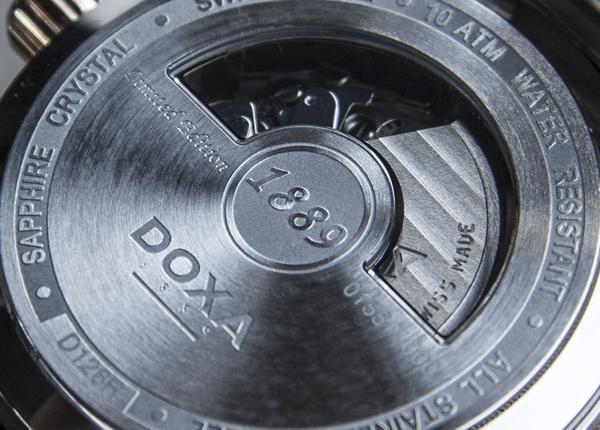 Dòng Doxa Trofeo ChronoMax D128 Limited Edition: Đa Năng Chân Chính ETA VALJOUX 7751