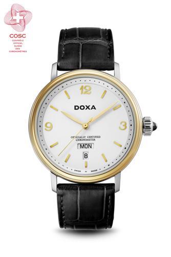 Đồng Hồ Doxa D139, Từ Vàng 18K Cho Đến Độ Chính Xác Chronometer D139TWH