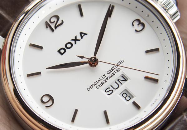 Đồng Hồ Doxa D139, Từ Vàng 18K Cho Đến Độ Chính Xác Chronometer Cận Cảnh