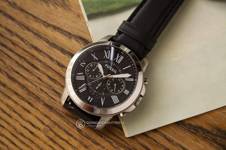 Đồng hồ Fossil FS4812IE tích hợp tính năng Chronograph - Ảnh 2