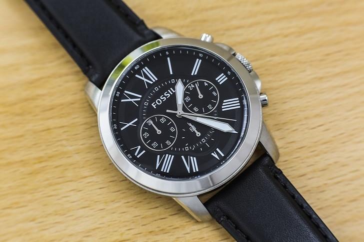 Đồng hồ Fossil FS4812IE tích hợp tính năng Chronograph - Ảnh 6