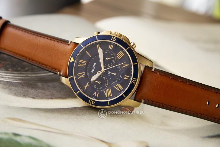 Đồng hồ Fossil FS5268 thiết kế thể thao đậm tính thời trang - Ảnh 1
