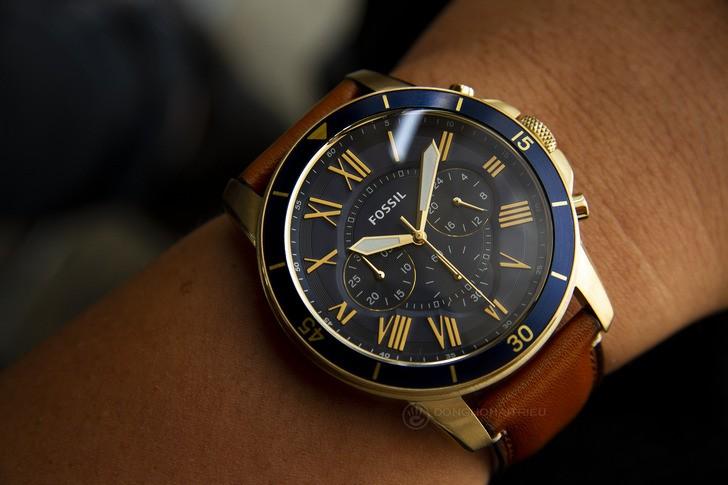 Đồng hồ Fossil FS5268 thiết kế thể thao đậm tính thời trang - Ảnh 3