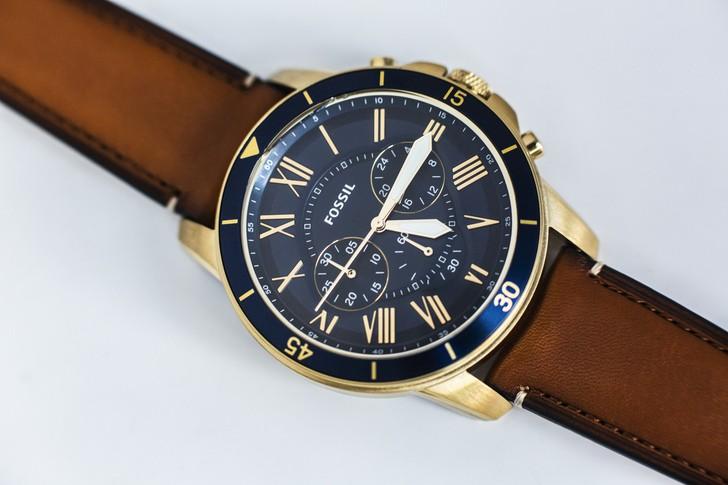 Đồng hồ Fossil FS5268 thiết kế thể thao đậm tính thời trang - Ảnh 6