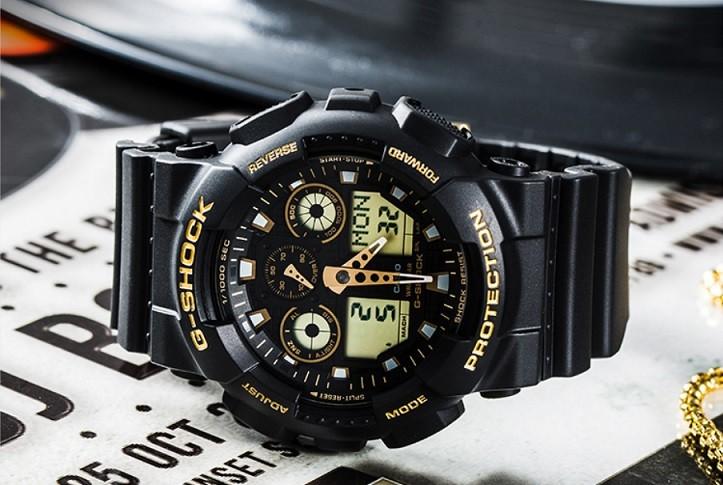 Đồng hồ G-Shock GA-100GBX-1A9DR trang bị nhiều tính năng thể thao - Ảnh 1