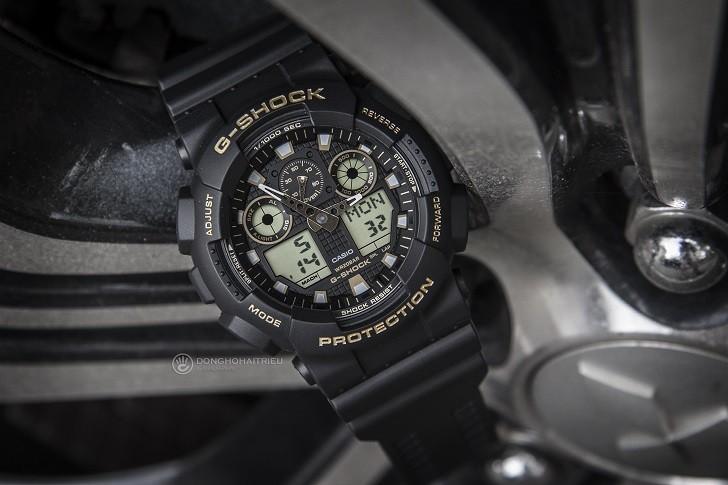 Đồng hồ G-Shock GA-100GBX-1A9DR trang bị nhiều tính năng thể thao - Ảnh 2