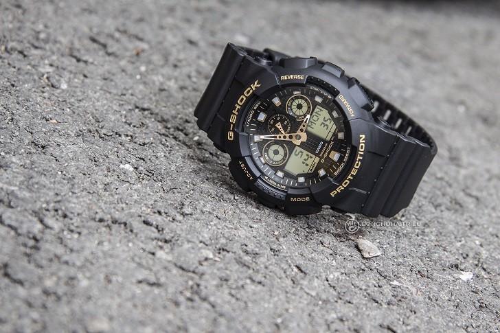 Đồng hồ G-Shock GA-100GBX-1A9DR trang bị nhiều tính năng thể thao - Ảnh 3