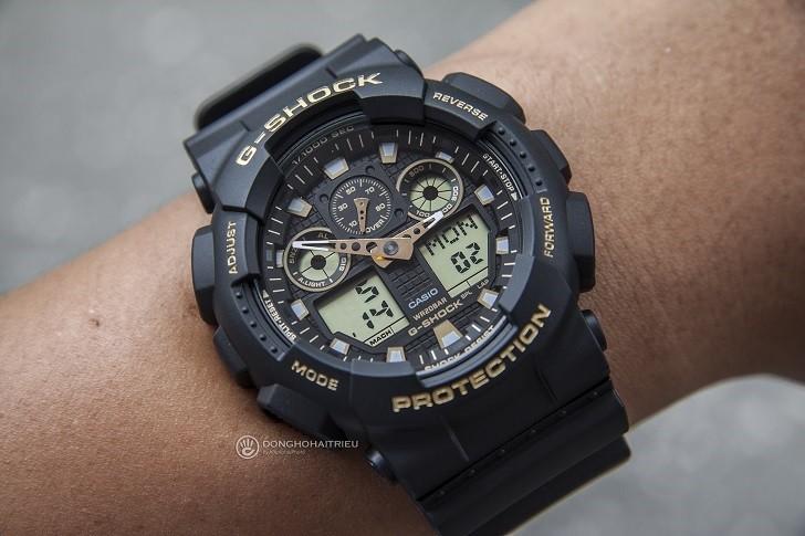 Đồng hồ G-Shock GA-100GBX-1A9DR trang bị nhiều tính năng thể thao - Ảnh 4