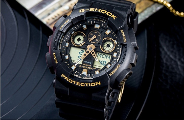 Đồng hồ G-Shock GA-100GBX-1A9DR trang bị nhiều tính năng thể thao - Ảnh 6
