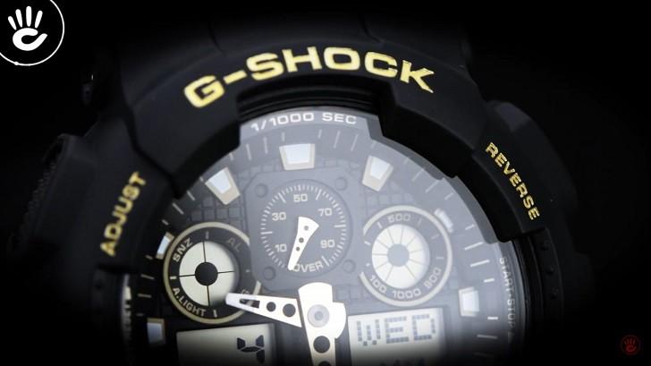 Đồng hồ G-Shock GA-100GBX-1A9DR trang bị nhiều tính năng thể thao - Ảnh 7