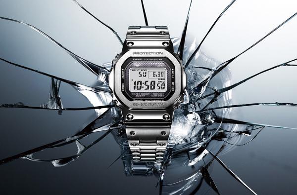 G-Shock GMW-B5000: Hồi Sinh Cụ Tổ 1983 DW-5000C Từ Kim Loại G-Shock GMW-B5000D-1