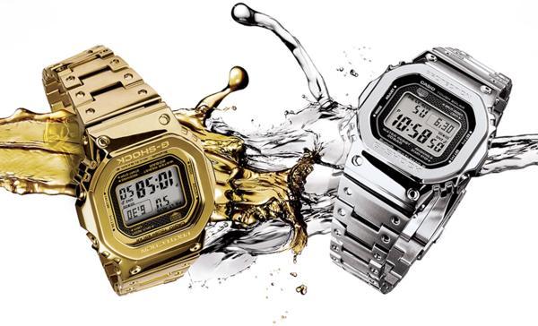 G-Shock GMW-B5000: Hồi Sinh Cụ Tổ 1983 DW-5000C Từ Kim Loại