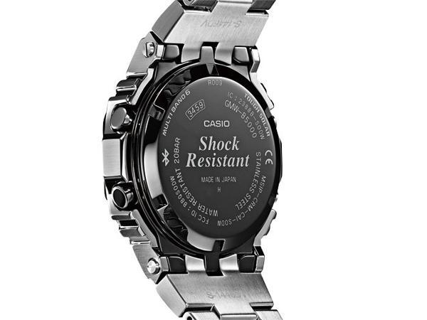 G-Shock GMW-B5000: Hồi Sinh Cụ Tổ 1983 DW-5000C Từ Kim Loại Caseback DLC