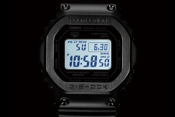 G-Shock GMW-B5000: Hồi Sinh Cụ Tổ 1983 DW-5000C Từ Kim Loại Đèn LED