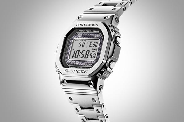 G-Shock GMW-B5000: Hồi Sinh Cụ Tổ 1983 DW-5000C Từ Kim Loại Mặt Số G-Shock GMW-B5000D-1