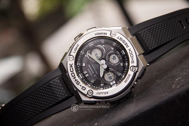 Đồng hồ G-Shock GST-S310-1ADR bộ máy năng lượng ánh sáng - Ảnh 1
