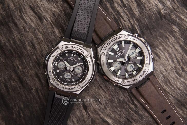 Đồng hồ G-Shock GST-S310-1ADR bộ máy năng lượng ánh sáng - Ảnh 2